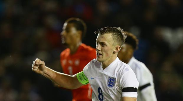 Southampton midfielder James Ward-Prowse was made captain of the England Under-21s last year.