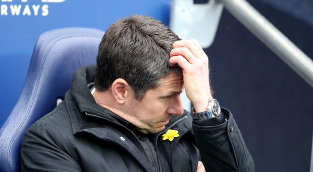 Remi Garde took over at Aston Villa in November but won just three of his 23 matches in charge.