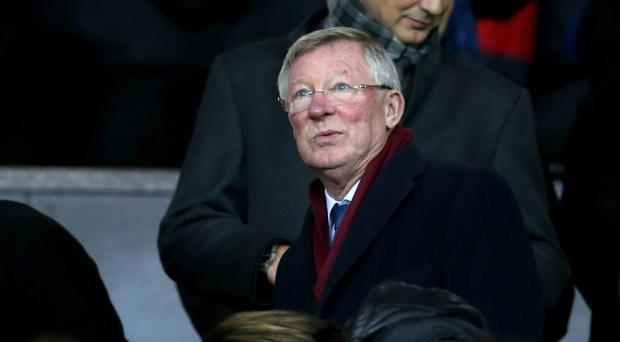Former Manchester United manager Sir Alex Ferguson, pictured, has come to the defence of Louis van Gaal