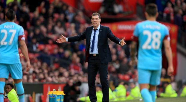 West Ham United manager Slaven Bilic is worried about his West Ham players