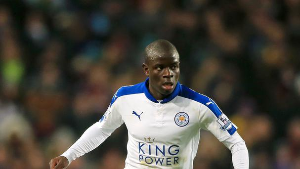 Leicester City's N'Golo Kante has impressed since moving from Caen last summer.