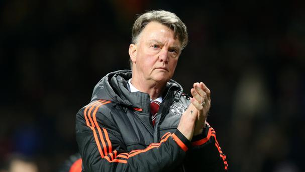 Although he has Sir Alex Ferguson's support, Louis van Gaal, pictured, knows United must finish in the top four