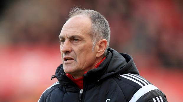 Francesco Guidolin's Swansea are edging towards safety