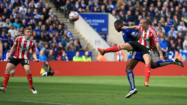 Wes Morgan headed in Leicester's winner in their 1-0 victory over Southampton
