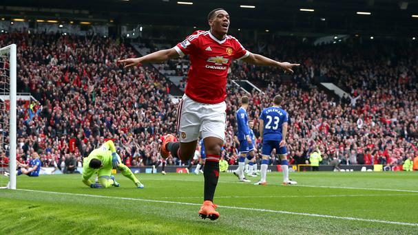 Anthony Martial secured Manchester United victory against Everton
