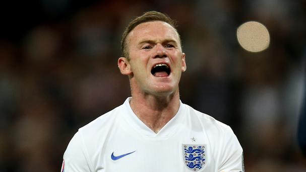 ooney's place in England's squad is assured as long as he is fit, but a starting spot is a long way from being guaranteed. Photo: PA