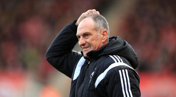 Swansea's Francesco Guidolin says discussions over his future will be held as soon as the club are safe from relegation danger