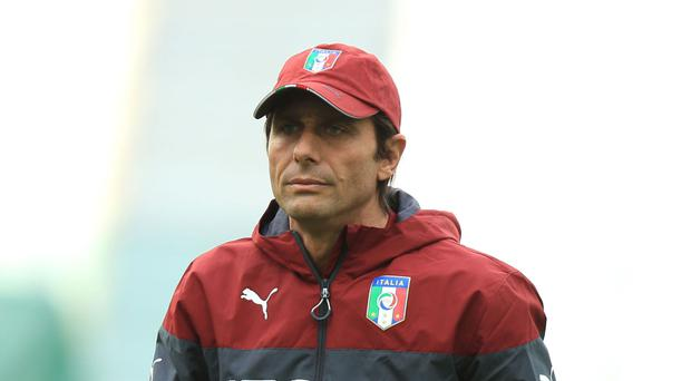 Italy head coach Antonio Conte will take over at Chelsea in the summer