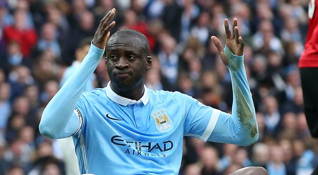 Yaya Toure joined Manchester City from Barcelona in 2010