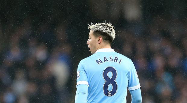 Samir Nasri shone on his return to Manchester City's starting line-up