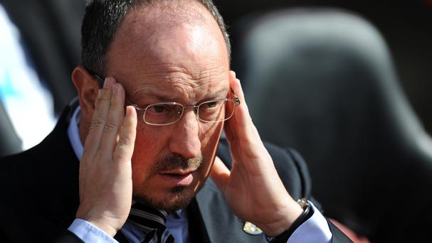 Newcastle United manager Rafael Benitez wants to see character and passion from his players