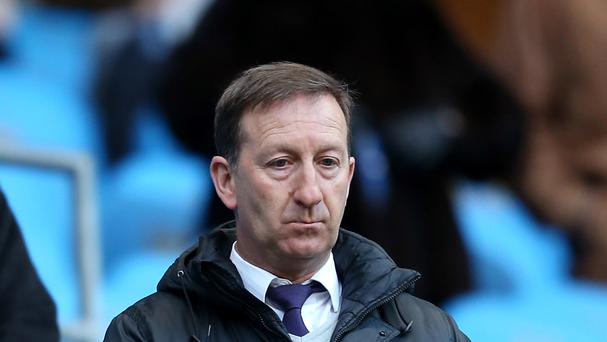 Swansea chairman Huw Jenkins, pictured, says a possible takeover at the Liberty Stadium will not alter their managerial plans this summer