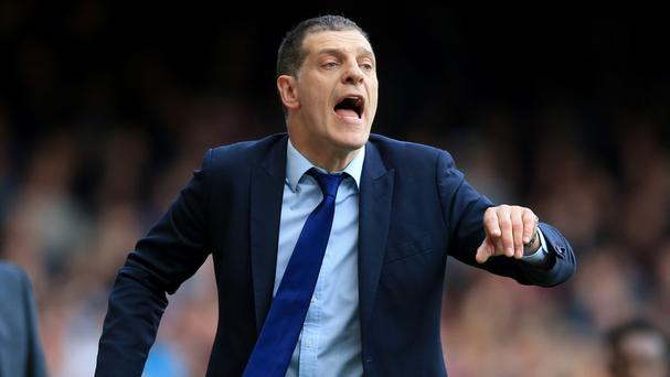 Slaven Bilic, pictured, does not want Wayne Rooney to feature in West Ham's FA Cup match against Manchester United
