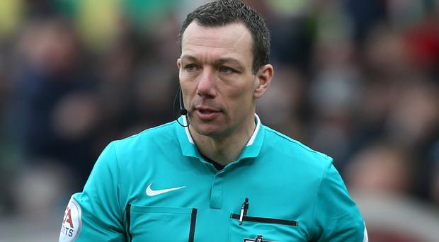 Leicester-based referee Kevin Friend will not oversee Tottenham's match at Stoke