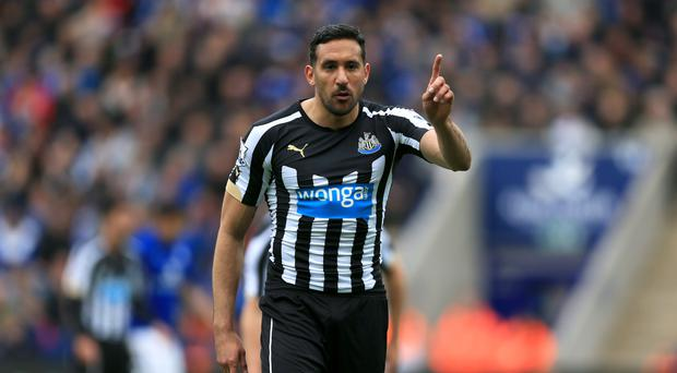 Jonas Gutierrez in his days as a Newcastle player