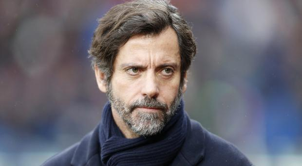 Quique Sanchez Flores' team will play at Wembley on April 24