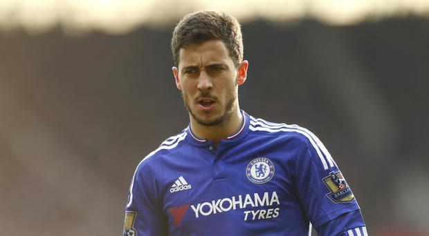 Chelsea's Eden Hazard should