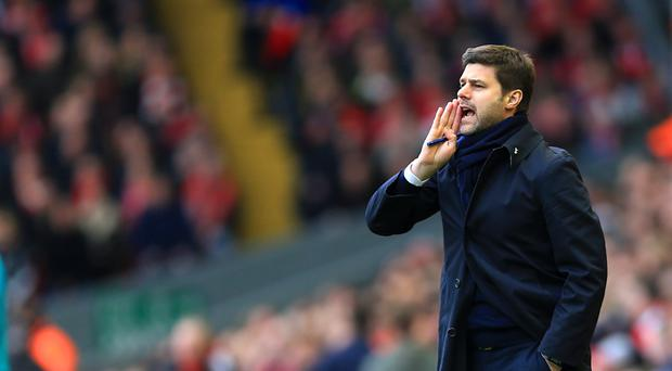 Mauricio Pochettino's Tottenham play Stoke on Monday