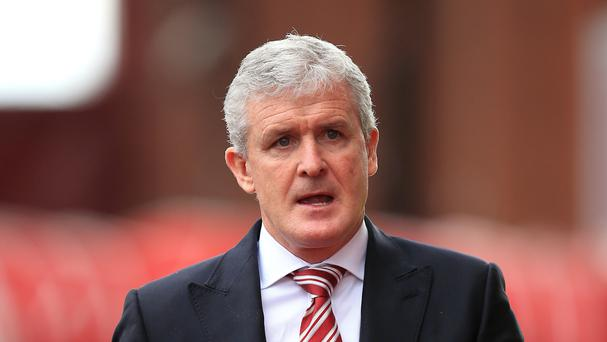 Stoke manager Mark Hughes hopes his side can capitalise on any Spurs nerves on Monday