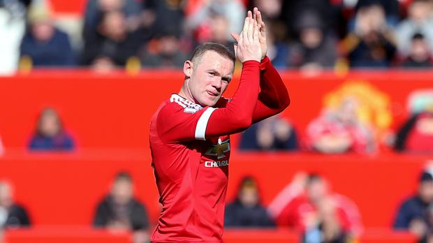 Wayne Rooney was involved in Manchester United's only goal against Aston Villa