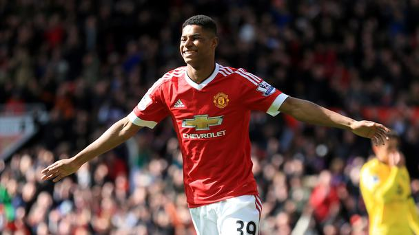 Marcus Rashford's fine form continued as the teenager netted Manchester United's winner against Aston Villa