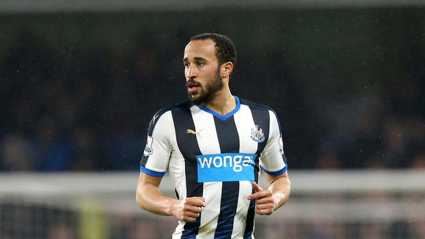Andros Townsend played the starring role in Newcastle's 3-0 victory over Swansea