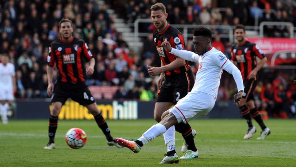 Daniel Sturridge inspired Liverpool to a 2-1 win at Bournemouth
