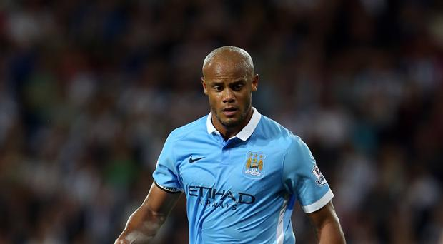 Vincent Kompany is set to return for Manchester City