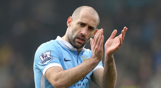 Pablo Zabaleta has been a popular figure during eight years with Manchester City