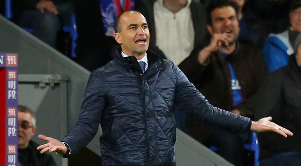 Roberto Martinez insists the next week has nothing to do with his future at Everton