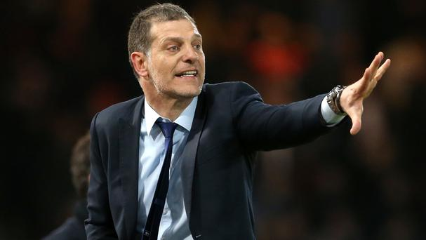 Slaven Bilic still has hopes of Champions League football