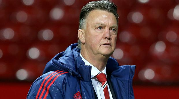 Louis van Gaal would have liked more goals from his Manchester United side