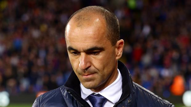 Everton manager Roberto Martinez needs a Wembley victory after derby embarrassment