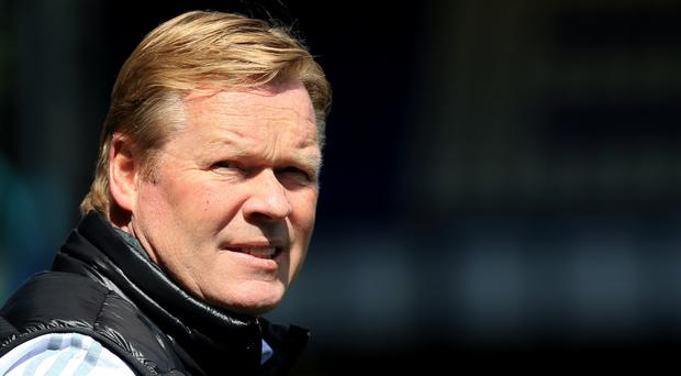 Southampton manager Ronald Koeman wants his side to finish strongly