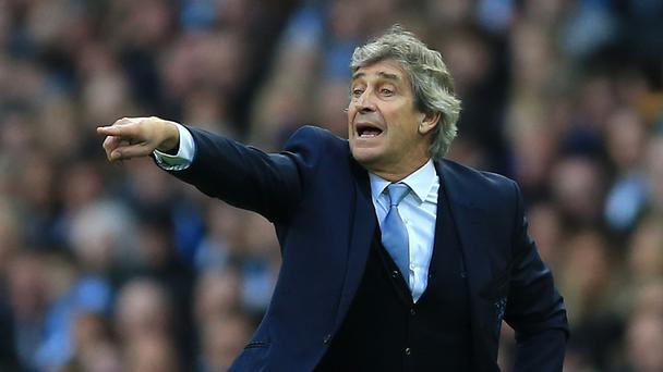Manchester City boss Manuel Pellegrini, pictured, has no problem with the club's decision to replace him with Pep Guardiola