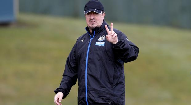 Newcastle manager Rafael Benitez, pictured, will take his side to his former employers Liverpool
