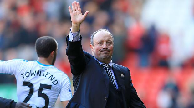 Rafael Benitez saw Newcastle come from two down to grab a point