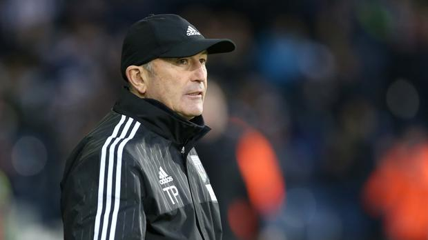 Tony Pulis wants an improved performance from his West Brom side in Monday's game at title-chasing Tottenham.