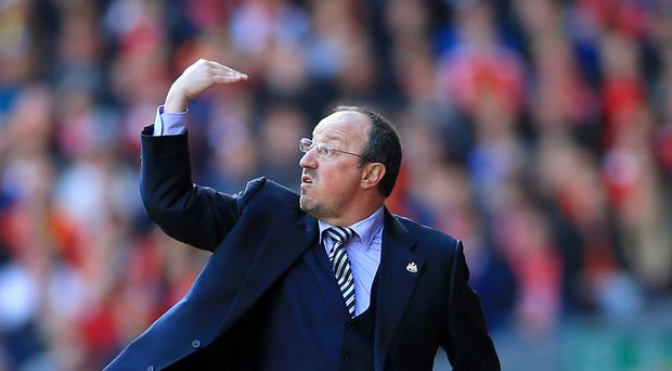 Newcastle manager Rafael Benitez has given his players belief.