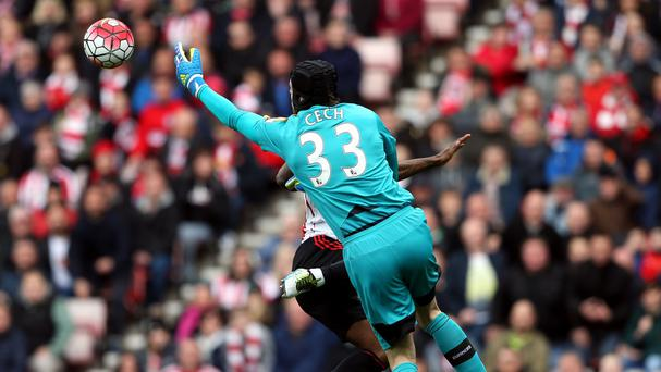 Petr Cech was in fine form for Arsenal