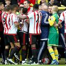 Norwich and Sunderland have both been fined £30,000