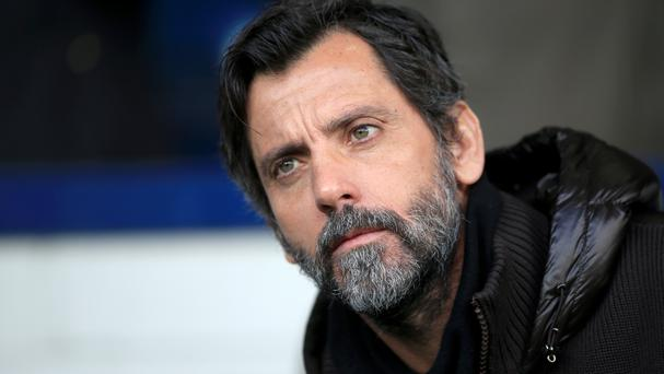 Quique Sanchez Flores' Watford host Aston Villa on Saturday.