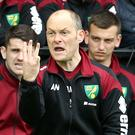 Norwich boss Alex Neil goes in search of three points at Arsenal on Saturday