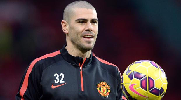 Victor Valdes is returning to Manchester United