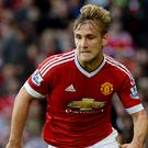 Manchester United defender Luke Shaw is eyeing a comeback before the end of the season