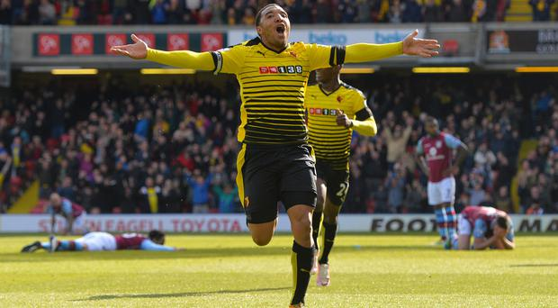 Troy Deeney's double swung the result Watford's way