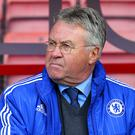 Chelsea interim manager Guus Hiddink has two games left at the helm