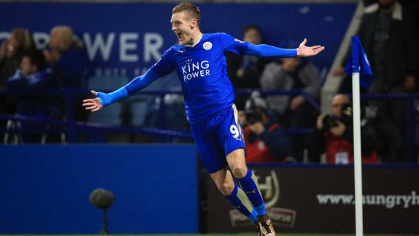 Leicester forward Jamie Vardy has been voted 2016 FWA Footballer of the Year