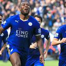 Wes Morgan will get his hands on the Premier League trophy after the home clash against Everton on Saturday