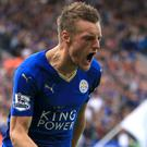 Jamie Vardy's goals have been crucial to Leicester's stunning title success
